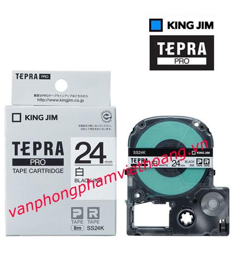 Băng mực in nhãn TEPRA PRO 24mm