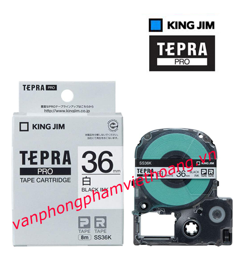Băng mực in nhãn TEPRA PRO 36mm