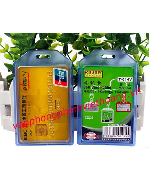 Bao đựng thẻ dọc Soft Card Holder T-014V