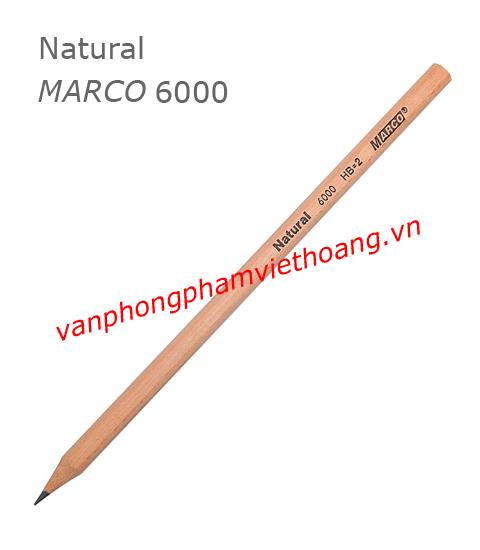 Bút chì HB Natuarl MARCO 6000