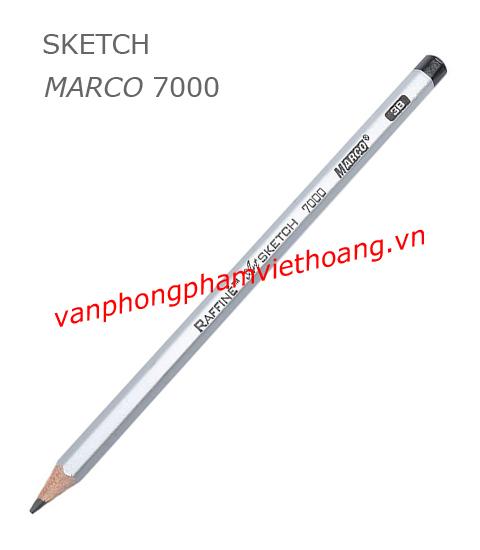 Bút chì kỹ thuật Sketch Marco 7000