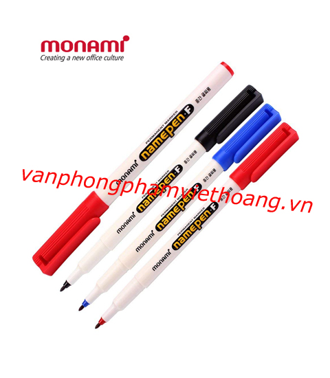 Bút dạ kính Monami Namepen.F (1 đầu)