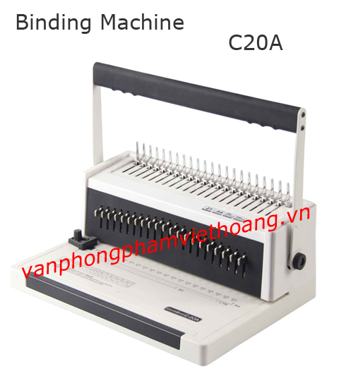 Máy đóng gáy xoắn nhựa Feg - C20A