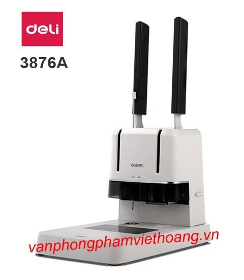 Máy khoan đóng chứng từ Deli 3876A