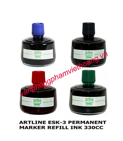Mực dấu dầu đa năng đóng lên bao bì Artline ESK-3