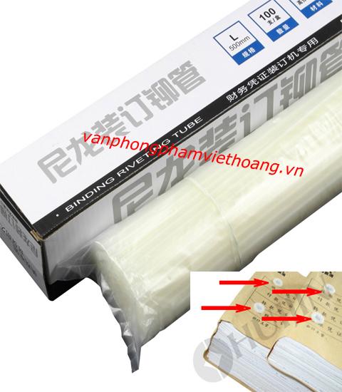 Ống nhựa đóng chứng từ phi 5.2mm