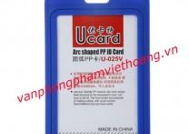 Bao nhựa đựng thẻ dọc Ucard U-025V