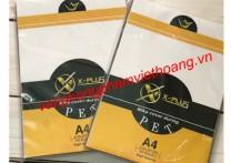 Bìa bóng kính Mika A4 X-Plus