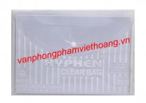 Clear bag khổ A Hyphen HP02 (dày)