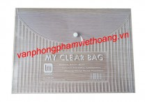 Clear bag khổ A trung