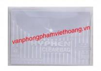 Clear bag khổ F Hyphen HP05 (dày)
