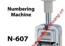 Dấu nhảy số tự động 6 số MAX N-607