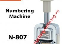 Dấu tự động 8 số MAX N-807