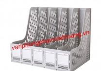 File nan nhựa 5 ngăn đứng Deli 9838