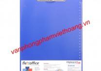File trình ký nhựa cứng 1 mặt A4 flexoffice FO-CB05
