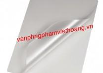 Giấy ép Plastic khổ A4 - 125 Mic (dày)