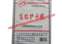 Giấy ép Plastic khổ A4 - 45 Mic (mỏng)