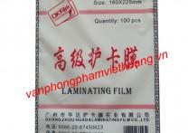 Giấy ép Plastic CP3 khổ A5 - 45 Mic (trung)