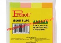 Giấy phân trang 4 màu giấy Pronoti 07124