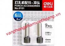 Lưỡi dao đục lỗ Deli 0151 (dùng cho Deli 0150)