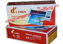 Máy ép Plastic KANSAI KS - 320 Lô đỏ (khổ A3)